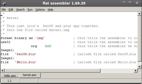 DexBasic for raspberry pi